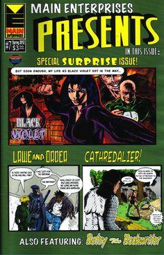 Main Enterprises Comics produces very readable comicbooks