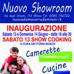 Il 13 e 14 giugno 2015, la Nuova Domus Arredamenti inaugura il rinnovato showroom di Stosa cucine e il nuovo corner camerette Moretti Compact...