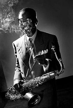 James Moody by Herman Leonard. New York City, 1951.