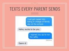 How funny are these 8 texts every parent sends?