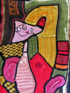 Lykyt puikoilla: Picasson muusa - vapaasti virkattuna