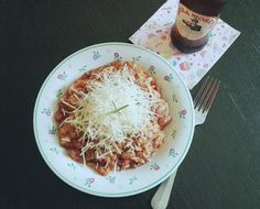 Vegán Pasta e fagioli adag Pasta E Fagioli, Coconut Flakes, Pap, Fitt, Spices, Recipes, Spice, Rezepte, Ripped Recipes