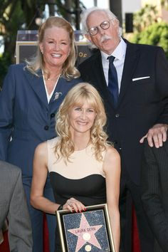 Laura Dern and family receive stars