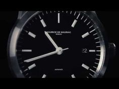 watch by Maurice de Mauriac Zurich - Design by Fabian Schwaerzler Modern Watches, Watches For Men, Swiss Made Watches, Zurich, Youtube, Design, Top Mens Watches, Men Watches