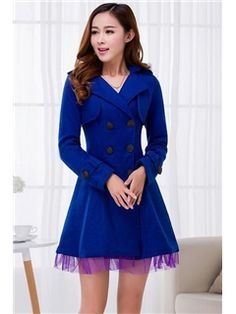 6da3aa9f2 Amazing Wool Yarn New Long Sleeves Overcoat Plus Size Outerwear, Clearance  Shoes, Wool Yarn