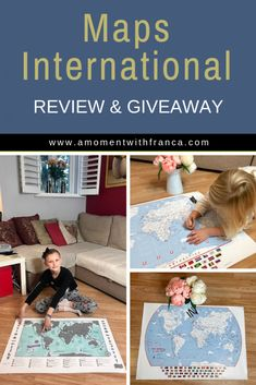 check the details about this giveaway at the bottom of the post. E Commerce Business, Mom Blogs, Diy Design, Countries, Giveaway, Travelling, Travel Maps, Christmas Gifts, In This Moment