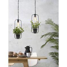 It's about Romi Florence hanglamp met plantenhouder | FLINDERS Decor, White Pendant Lamp, Lamp, Bulb, Iron, Color, Home Lighting, Glass, Pendant Lighting