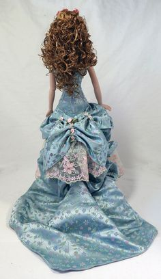 Dalila's Victorian Gown Back