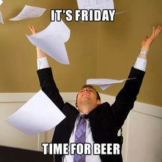 It's Friday time for beer!