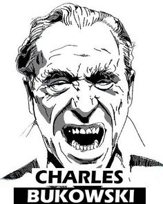 Charles Bukowski Graphic Deasign Art PopArt MAKE KOKS