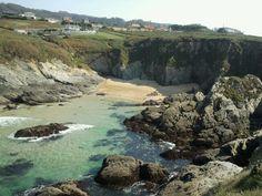 Praia de Os Curas. Valdoviño. (A Coruña). Galicia. Spain.