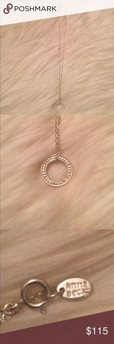 Anna Beck Circle Necklace Anna Beck Circle Necklace, in sterling silver. Anna Beck Jewelry Necklaces