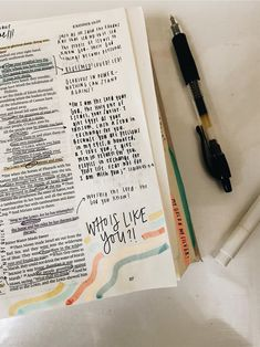 See more of lindseygatlin's content on VSCO. Bible Study Journal, Scripture Study, Bible Art, Jesus Bible, Faith Bible, Bibel Journal, Bible Doodling, Bible Notes, Bible Verses Quotes