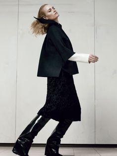 Amber Valletta by Craig McDean for Vogue Italia September 2012