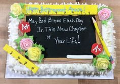Teacher Retirement Sheet Cake from Please allow One Week notice for Special Decorated Cakes Cake Size: Select Cake Size Sheet 2 Layer Sheet Retirement Party Cakes, Teacher Retirement Gifts, Retirement Party Decorations, Teacher Gifts, Party Planning, Retirement Planning, Retirement Countdown, Teacher Cakes, Birthday Sheet Cakes