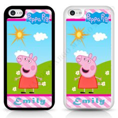 Peppa-Pig-Cartoon-Muddy-Puddles-Personalized-CASE-COVER-for-iPhone-iPod-Samsung