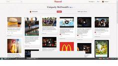 Op de Pinterest pagina van Mc Donald's kan je foto's bekijken van Mc Do ketens over heel de wereld. Wat u zeker eens moet bekijken is het Mc Donald's Global Menu Items-bord. Daar kan je menu's bekijken afhankelijk van de regio. De pagina is ook voorzien van een hele reeks filmpjes.