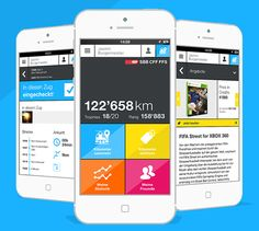 25 Mobile App Designs Featuring Graphs and Charts