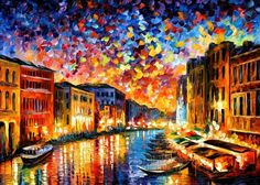PRODUCT DESCRIPTION    Title: Venice Grand Canal — PALETTE KNIFE Oil Painting On Canvas    Size:60cm x 50cm (24″x20″)    Condition:Excellent Brand New    Medium:100% hand paintedoil painting on Canvas – Recreation of an older painting    Signature: Signed by the Artist    Frame: Gallery Wraped and Ready to Hang        About this oil painting:    VENICE GRAND CANAL    THE CITY OF UNMATCHED BEAUTY    One of the most picturesque and romantic cities in the world, Venice has always…