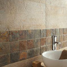 CarrelageVestige ARTENS, grès cérame teinté masse, beige, 30x60 cm