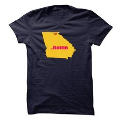 Georgia will always be home T Shirts, Hoodies. Check price ==► https://www.sunfrog.com/States/Georgia-will-always-be-home.html?41382