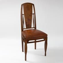 French Art Nouveau Side Chair by Louis Majorelle