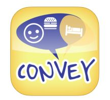 Convey is an AAC app that gives a 'voice' to people who have difficulty verbally communicating their wants, needs or emotions.  The app includes hundreds of requests related to emotions, items and places.