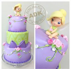 I just love the way ADK makes these beautiful cakes!