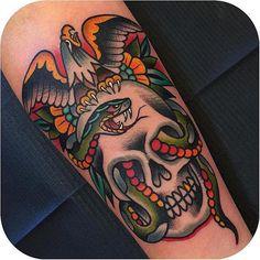 Solid @samuelebriganti #tattoodo http://ift.tt/1VBIOxG