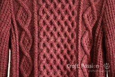 Get free knitting pattern of stylish & luxury Shawl Collar Cable Pullover. Sizes: 48 and 52 inch chest measurements, suit both men & women. Cable Pattern Free, Leaf Knitting Pattern, Cable Knitting Patterns, Free Knitting, Mens Knit Sweater, Hand Knitted Sweaters, Aran Sweaters, Cable Sweater, Handgestrickte Pullover