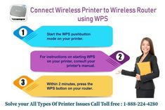 Easily Connect your wireless printer to wireless Router by using