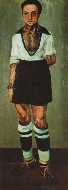 Portrait of Jaume Miravidles as a Footballer - Salvador Dali  #dali #paintings #art