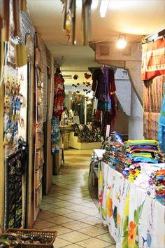 Textiles in Port Louis Market Mauritius