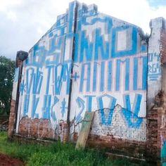 Foto enviada dos parceiros da @d3crew mural massa ali no baixo centro, na capitão bernardes.    #pixocentro #tipografiamarginal #tipografia #limeiracity #limeira #interior #anarquia #rua #vandal #pixação #pixo #pixobom #pixobomb #rolinho #vemprorolo #agenda #mural #ANIMO #SOLLO #RGS #OSMAISIM #OSMAISIMUNDOS