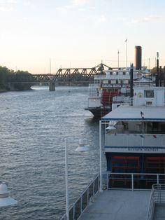 Old Sacramento...Sacramento River