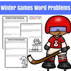 Winter Games Word Problems via @opchomeschool