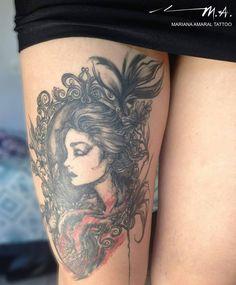 Tattoo by Mariana Amaral, São Paulo, Brazil/Brasil