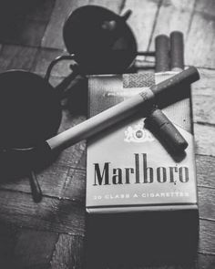 alternative, dark, grunge, marlboro, nicotine, punk, rock, smoke ...