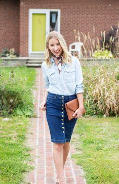 крой Jeans, Denim Skirts, Style, Fashion, Jean Skirts, Swag, Moda, Fashion Styles, Denim Skirt
