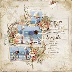 Pickleberrypop :: Bundles/Collections :: Seaside escape {collection} + FWP by Fanette Design