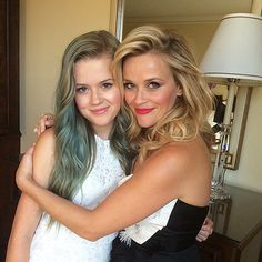 Celebrity Mother and Daughter Look-Alikes, Reese Witherspoon and Ava Photo : People.com