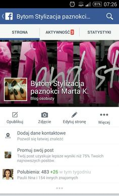 My page on facebook welcome