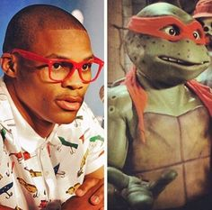 Russell Westbrook's Brother From Another Mother