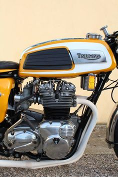 Trident T150T Racing Cafe Racer #motorcycles #caferacer #motos | caferacerpasion.com