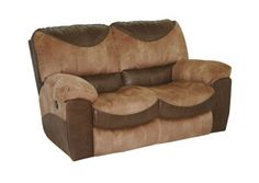 Portman Saddle/Chocolate Power Reclining Loveseat, /category/living-room/portman-saddle-chocolate-power-reclining-loveseat-1.html