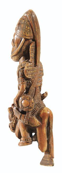 Yoruba Elesin Sango (Equestrian Figure), Nigeria