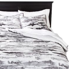 Abstract Watercolor Striae Comforter Set