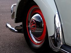 Red walls vw beetle tires rims