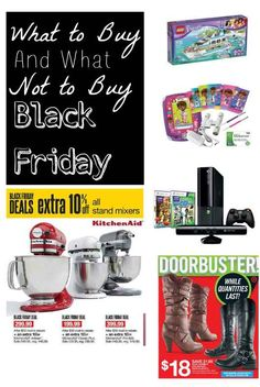 Black Friday Shopping. How do you know what to buy and what to avoid?