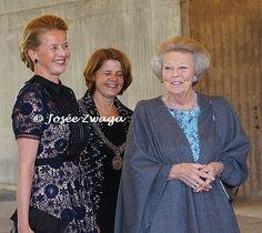 Prinses Beatrix en Prinses Mabel waren vandaag aanwezig bij de uitreiking van de derde Prins Friso Ingenieursprijs. De uitreiking vond plaats op de TU Delft, die dit jaar haar 175-jarig jubileum viert. April 18, 2017